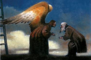 Man & Angel