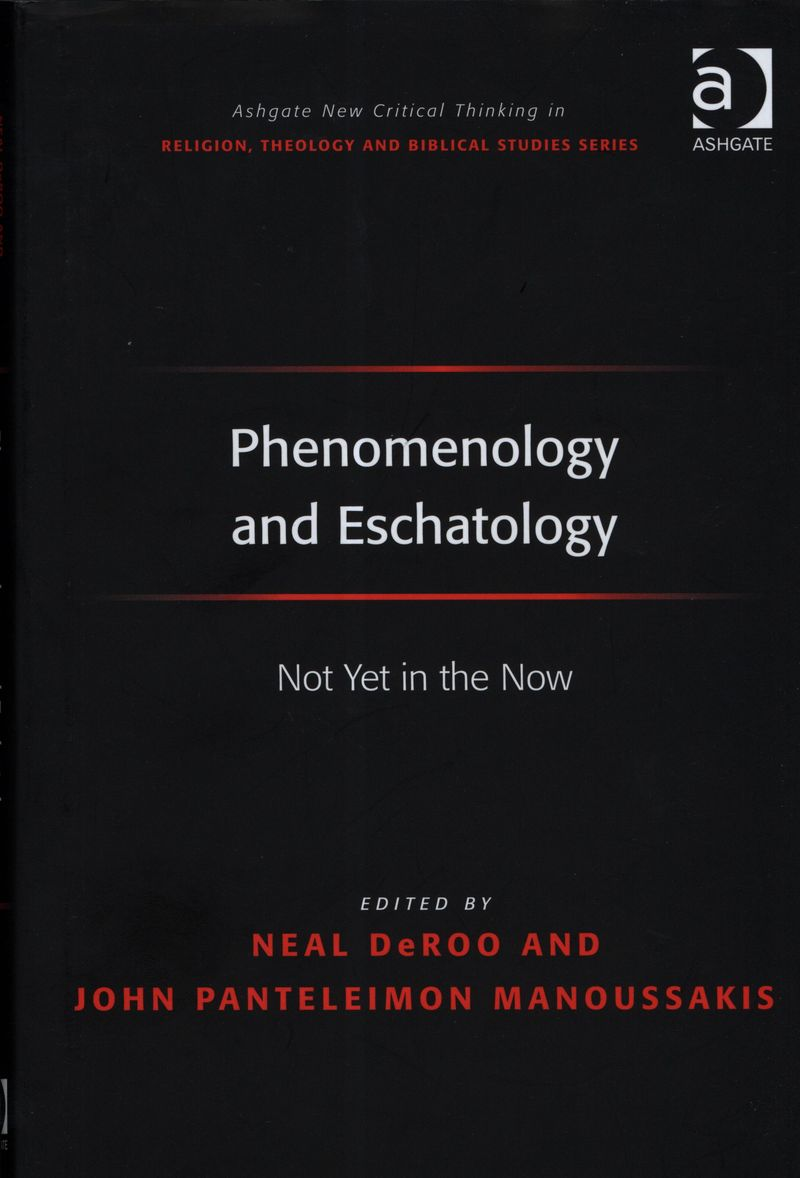 PhenomenologyAndEschatology0001